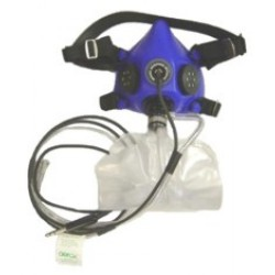Profi oxygen mask with microphone