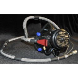 4110-725-002-01-1 TSO Approved Diluter Demand High Altitude Mask with Comfort Fit Headgear
