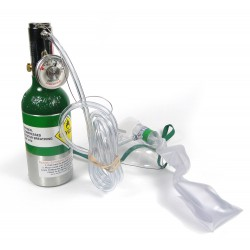 AEROX emergency oxygen system for 2 users